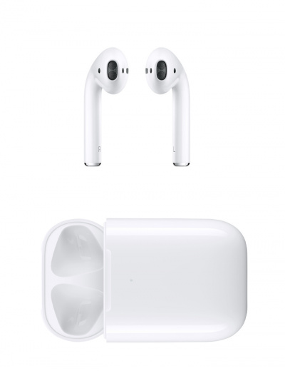 Apple AirPods 2 with Wireless Charging Case White