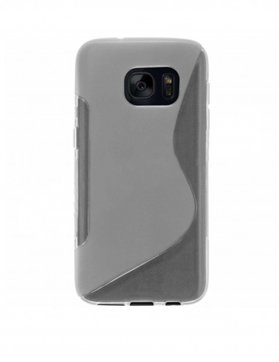 Clear Samsung Galaxy S7 Edge Gel S-Line Case