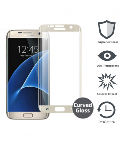 S7 Edge Tempered Glass Screen Protector