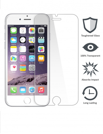 iPhone 6 & iPhone 6s Tempered Glass Screen Protector