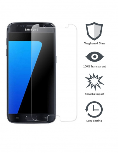 S7 Tempered Glass Screen Protector