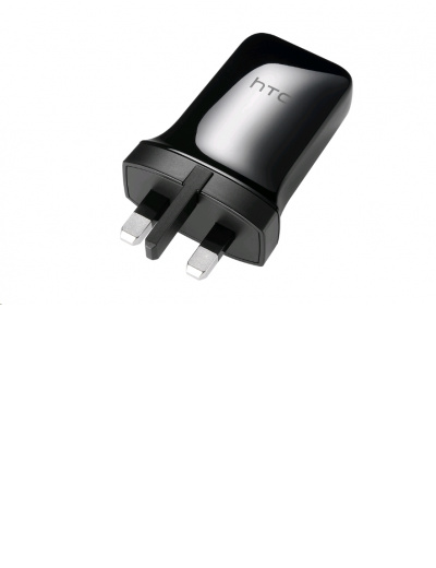 HTC 1.5A Charger- Black