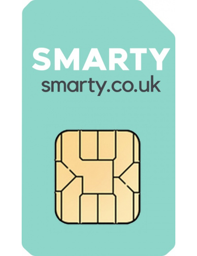 SMARTY Pay As You Go Sim Card