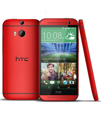 HTC One M8 Red