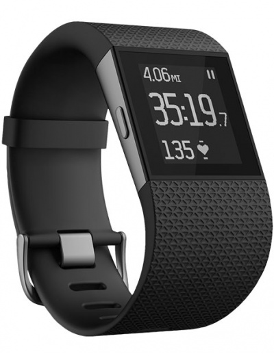 Fitbit Surge - Small Black