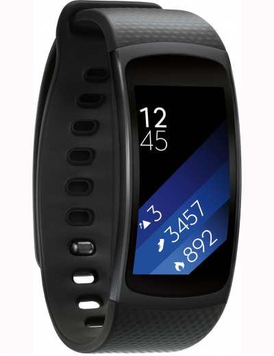 Samsung Gear Fit2 Large Black Edition