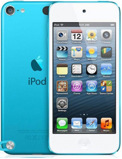 Apple iPod Touch (5th Gen) Blue