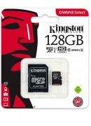 Kingston 128GB Class 10 Micro SD Memory Card