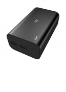Kit Power Bank 12,000 mAh Essentials Range Black
