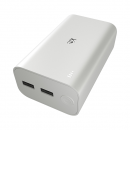 Kit Power Bank 12,000 mAh Essentials Range White
