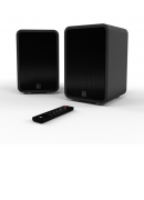 KitSound Reunion Powered Hi-Fi Speakers Black