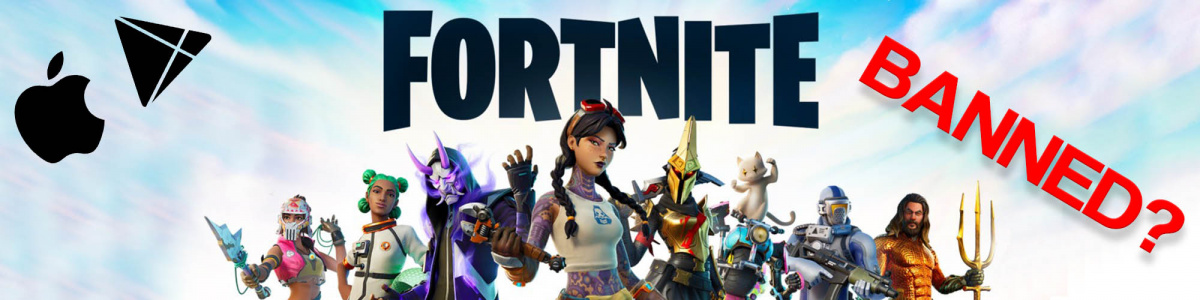 If you aren't an avid mobile gamer, you may not have noticed that Fortnite was rather unceremoniously yanked from the Apple App Store on iOS and the Google Play store for Android devices. But why did the 2 major corporations take these drastic steps against a game that once boasted 250 million players?
