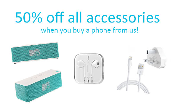 50% of all accessories 4Gadgets