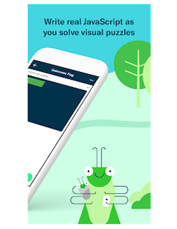 Grasshopper is a fantastic mobile phone app that is not only fun, but educational. It provides a fun, yet engaging way to learn to write JavaScript.