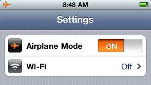 Airplane Mode Apple